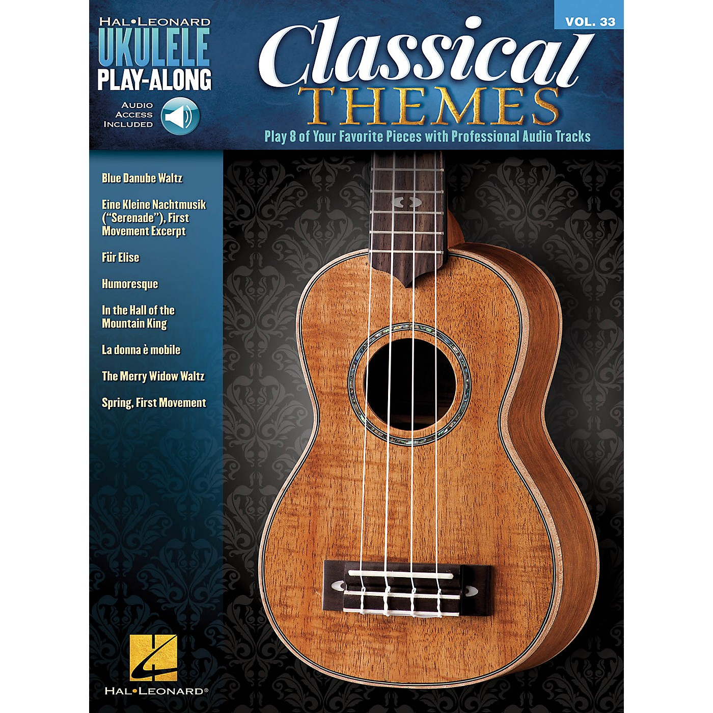 Hal Leonard Classical Themes (Ukulele Play-Along Volume 33) Ukulele Play-Along Series Softcover Audio Online thumbnail