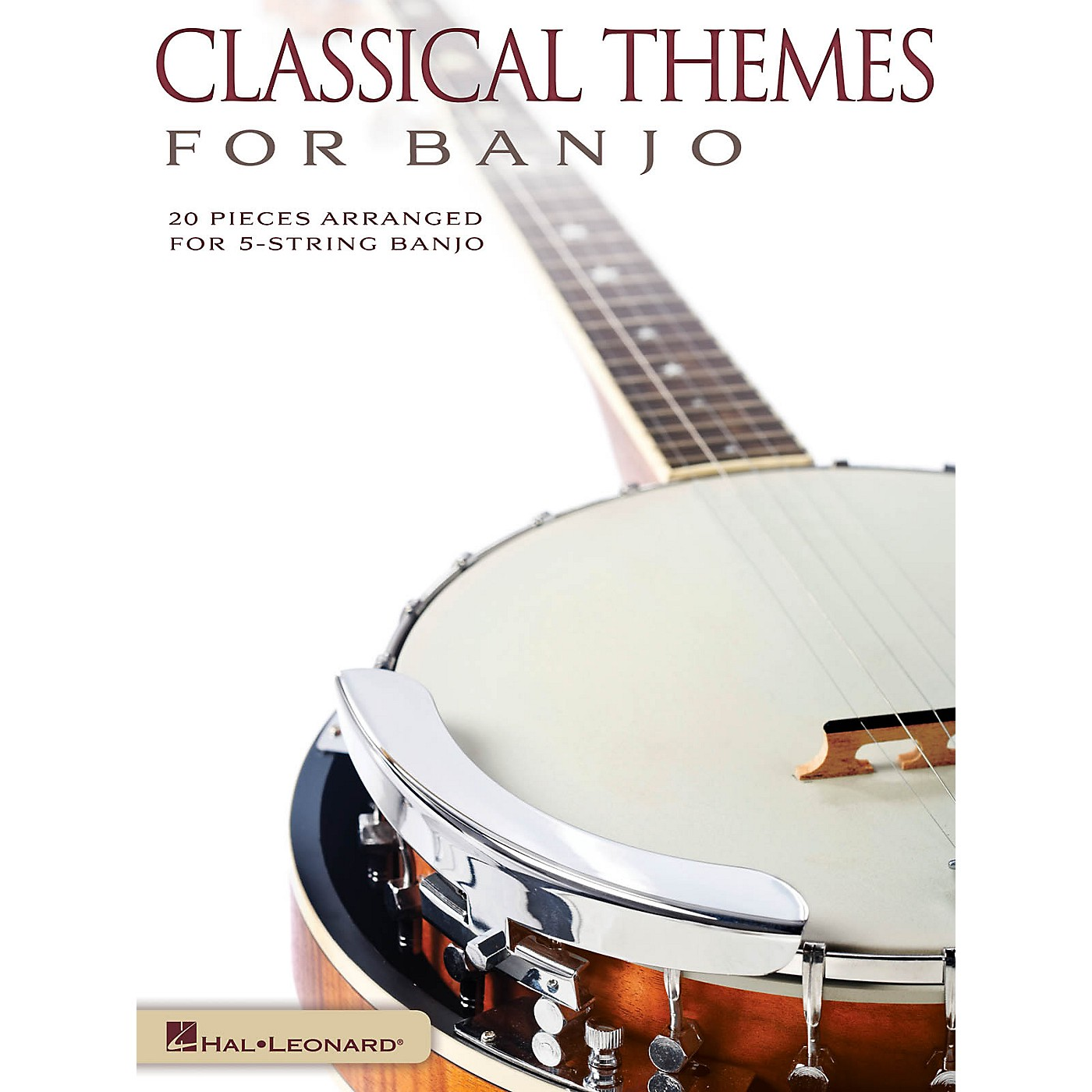 Hal Leonard Classical Themes for Banjo (20 Pieces Arranged for 5-String Banjo) Banjo Series Softcover thumbnail