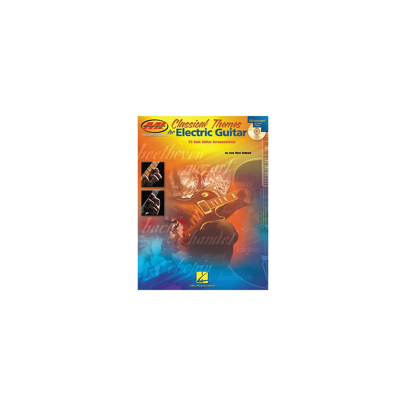 Homespun Classical Themes for Electric Guitar Guitar Tab Book with CD thumbnail