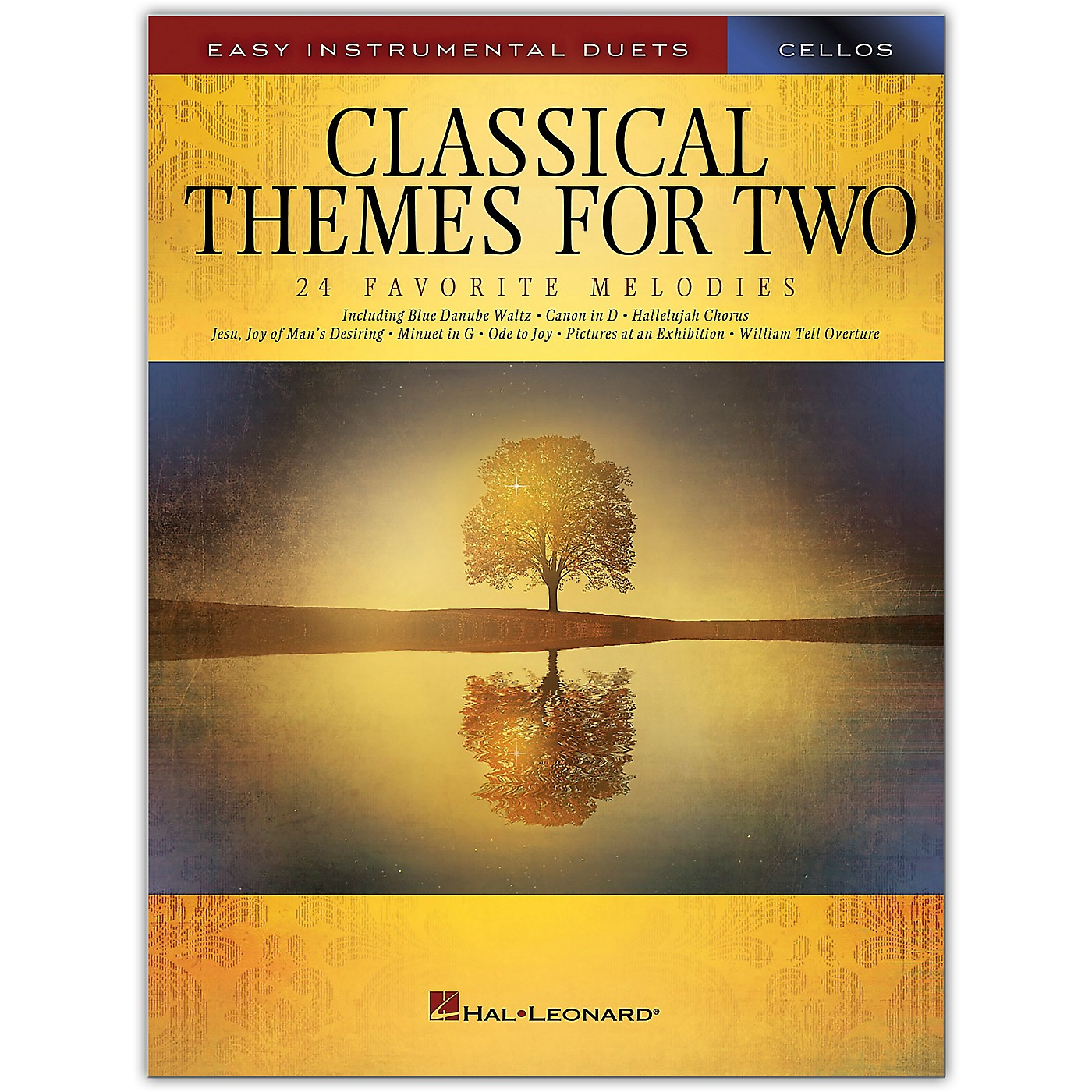 Hal Leonard Classical Themes for Two Cellos - Easy Instrumental Duets thumbnail