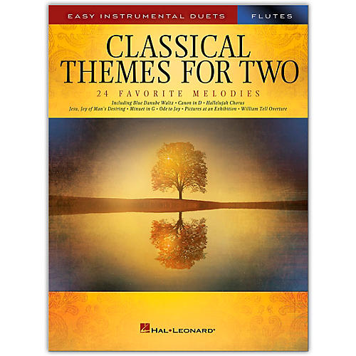 Hal Leonard Classical Themes for Two Flutes - Easy Instrumental Duets thumbnail