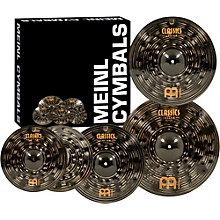 "Meinl Classics Custom Dark Pack Bonus Box Set with FREE 18"" Dark Crash"