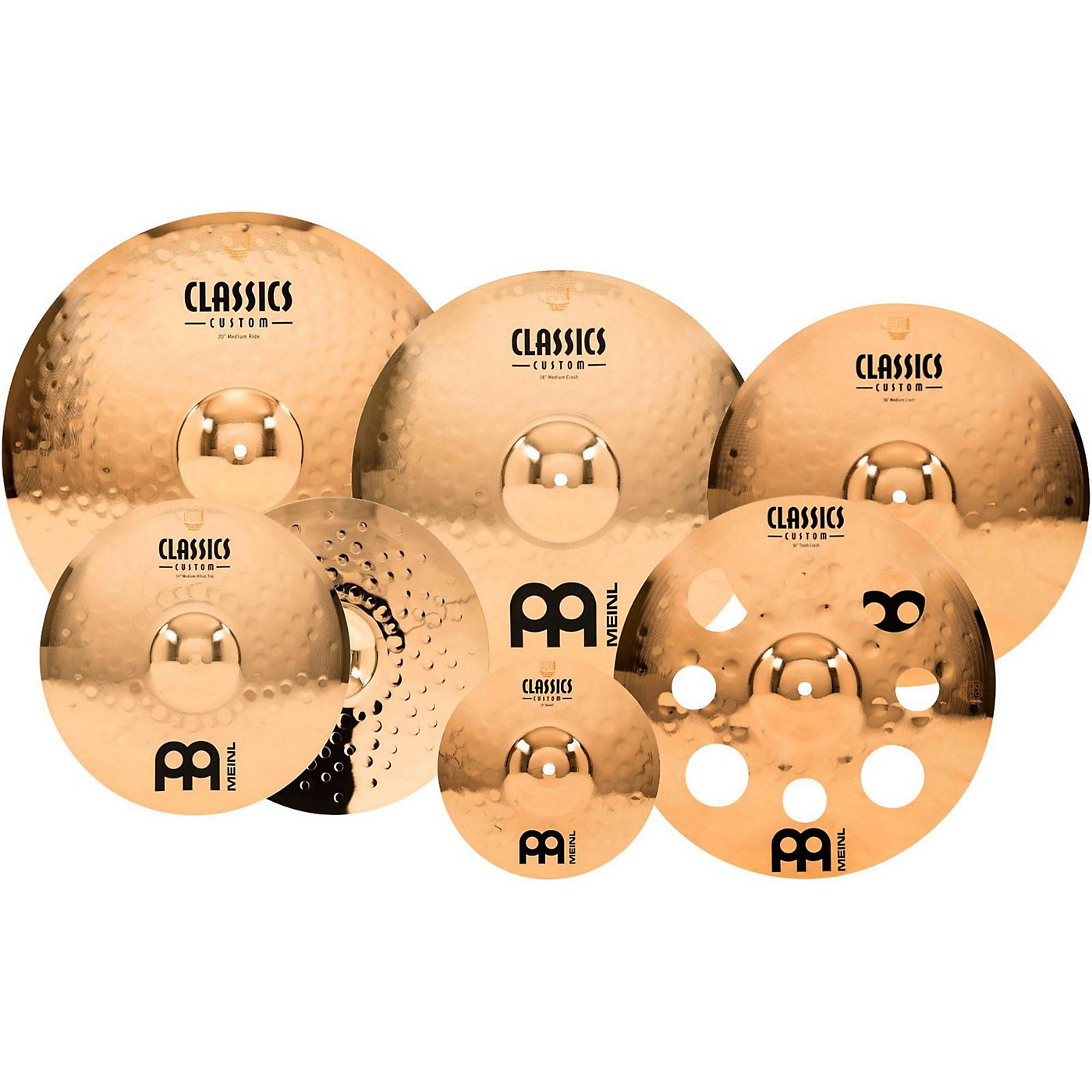 Meinl Classics Custom Double Bonus Pack Cymbal Box Set with FREE 10