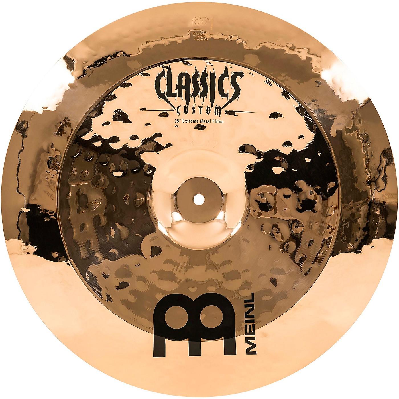 Meinl Classics Custom Extreme Metal China Cymbal thumbnail
