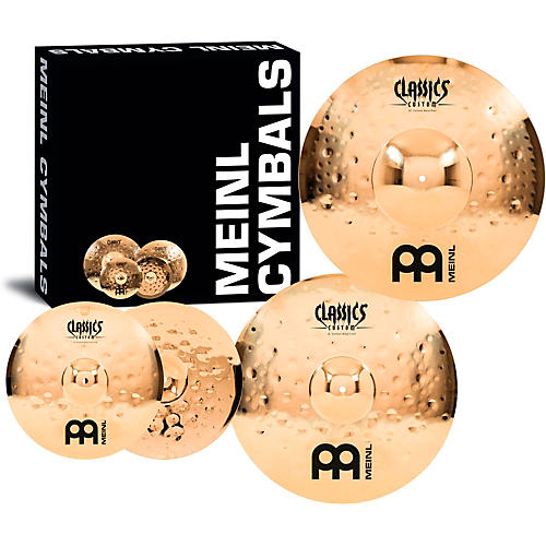 Meinl Classics Custom Extreme Metal Cymbal Set thumbnail