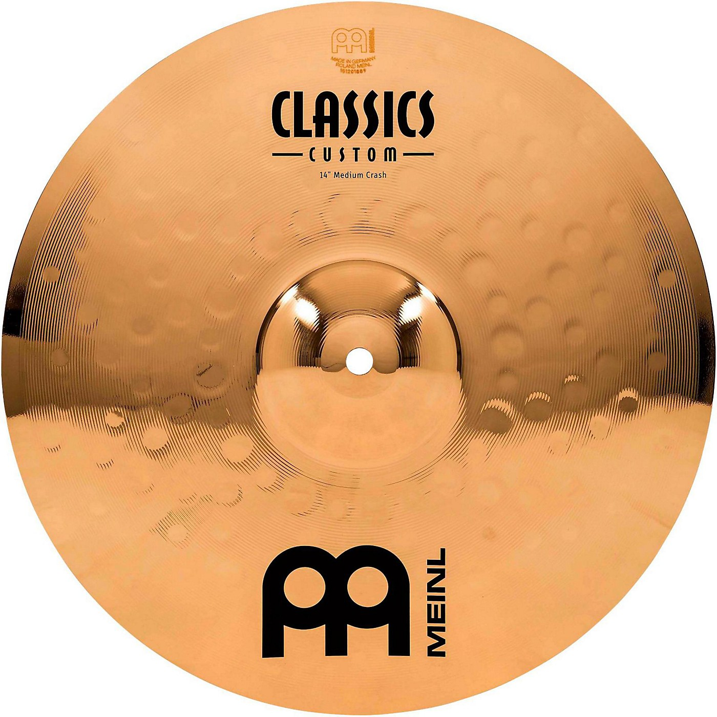 Meinl Classics Custom Medium Crash - Brilliant thumbnail