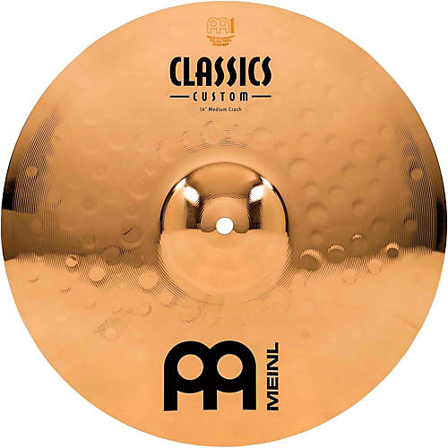 Meinl Classics Custom Medium Crash - Brilliant thumbnail