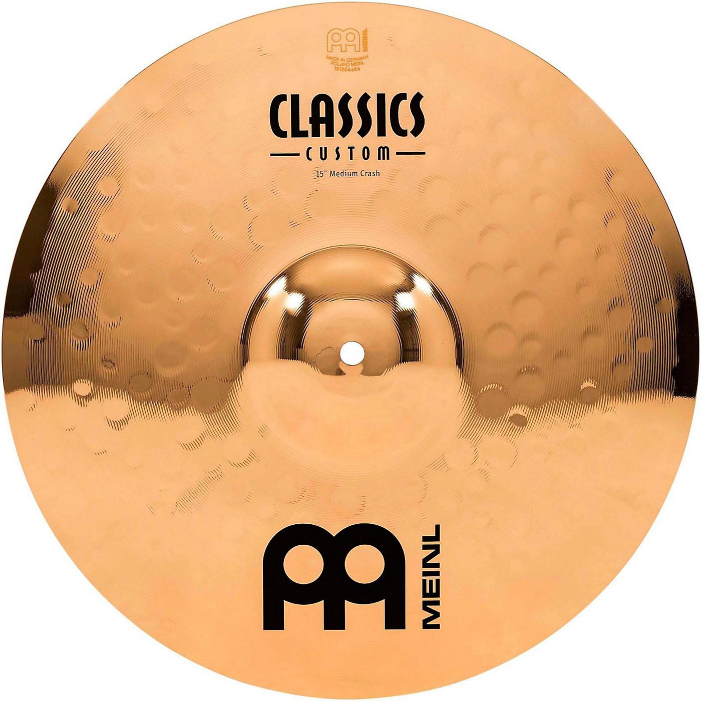 Meinl Classics Custom Medium Crash Cymbal thumbnail