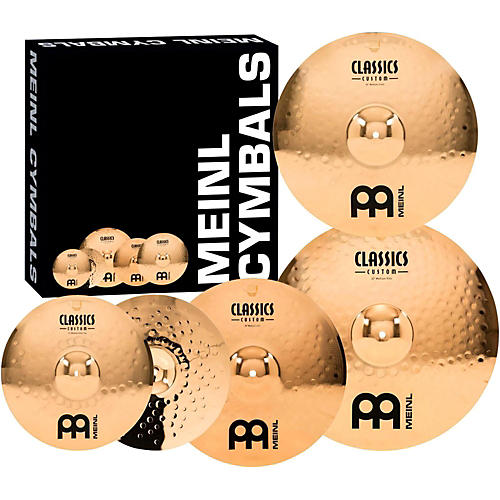 Meinl Classics Custom Medium Cymbal Set thumbnail
