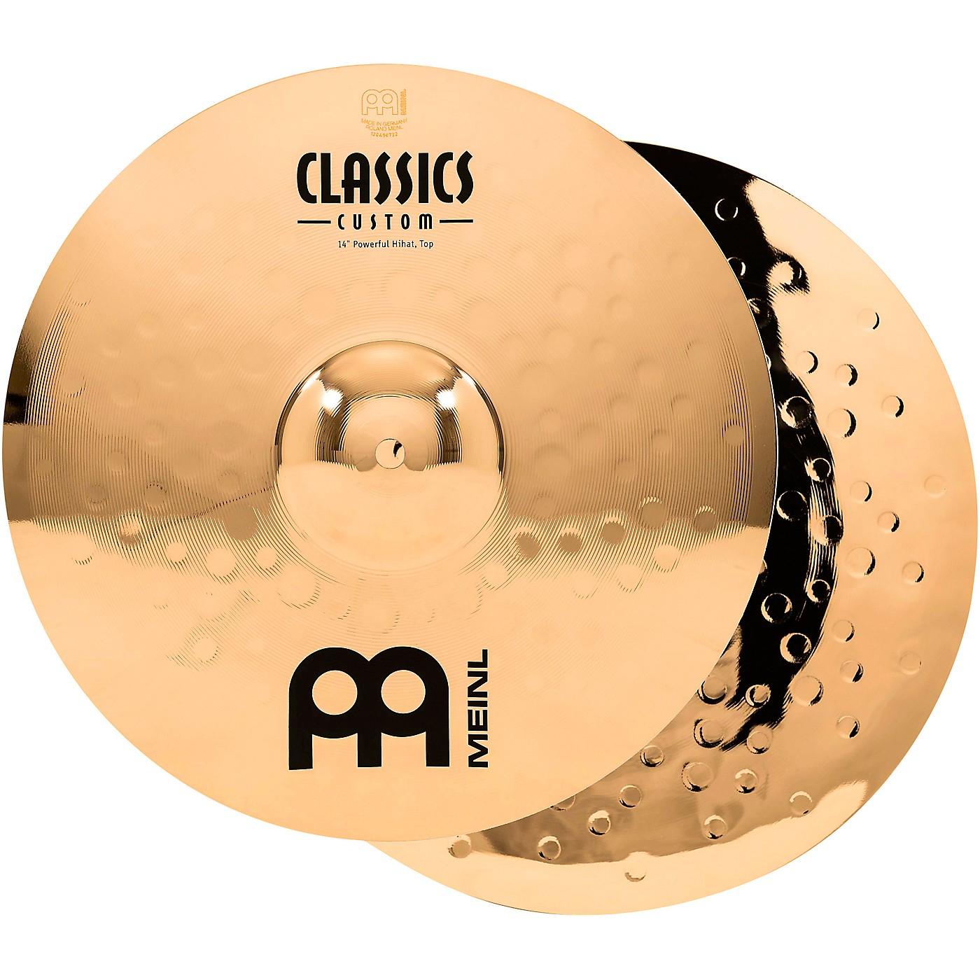 Meinl Classics Custom Powerful Hi-Hats - Brilliant thumbnail