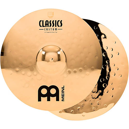 Meinl Classics Custom Powerful Hi-Hats - Brilliant thumbnail