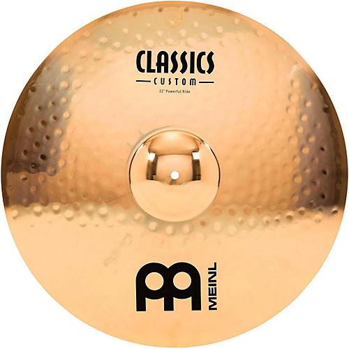 Meinl Classics Custom Powerful Ride - Brilliant thumbnail