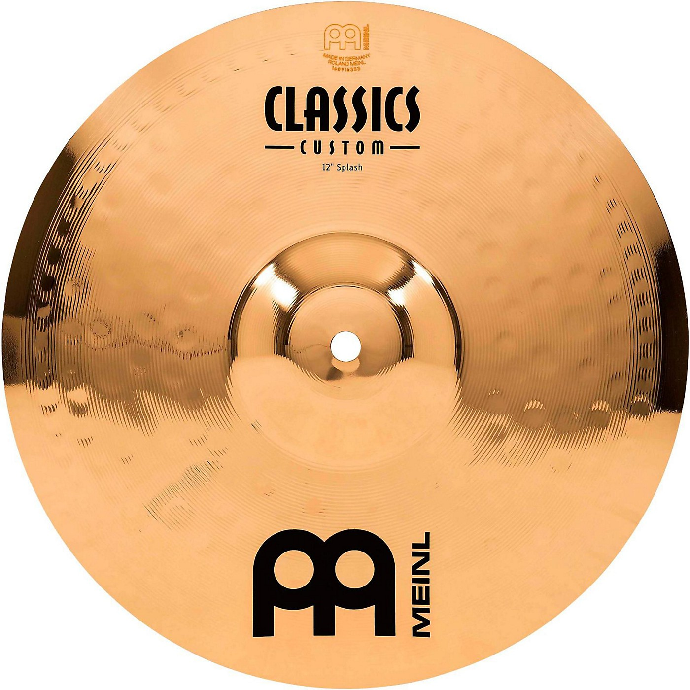 Meinl Classics Custom Splash - Brilliant thumbnail