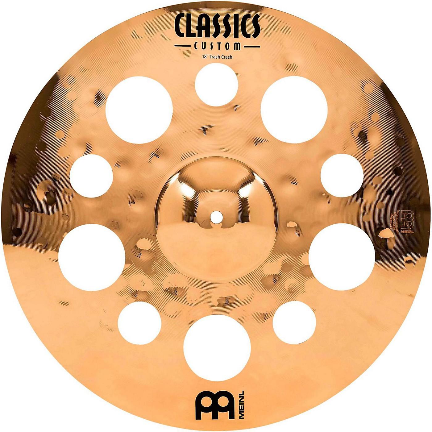 Meinl Classics Custom Trash Crash Cymbal thumbnail