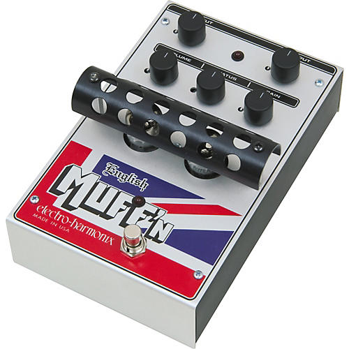 Electro-Harmonix Classics English Muff'n Overdrive Guitar Effects Pedal thumbnail