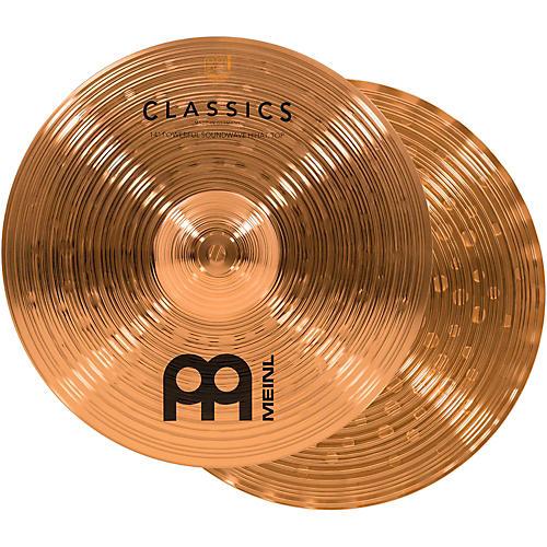Meinl Classics Powerful Soundwave Hi-Hat Cymbals thumbnail