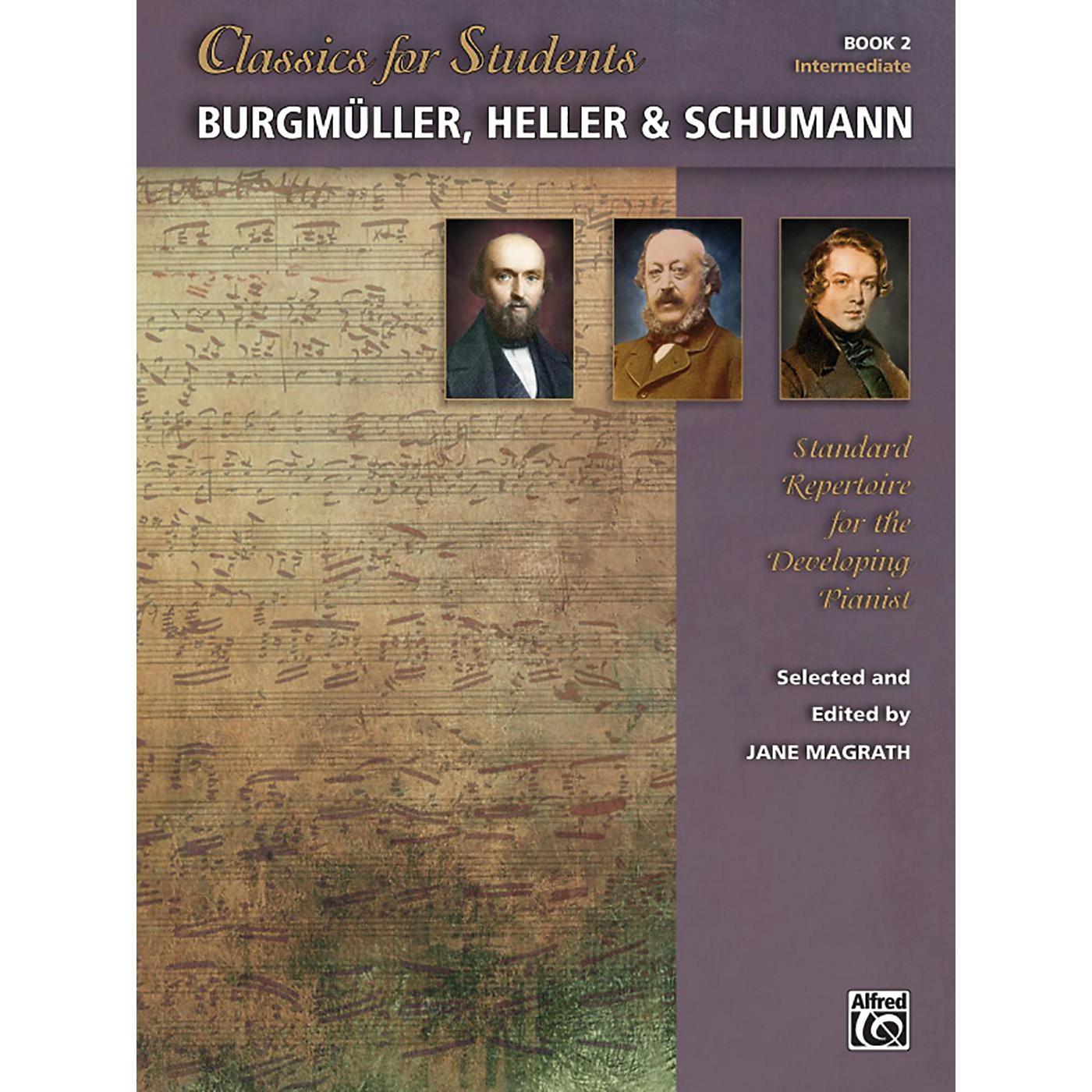 Alfred Classics for Students: Burgmuller, Heller & Schumann, Book 2 Intermediate thumbnail