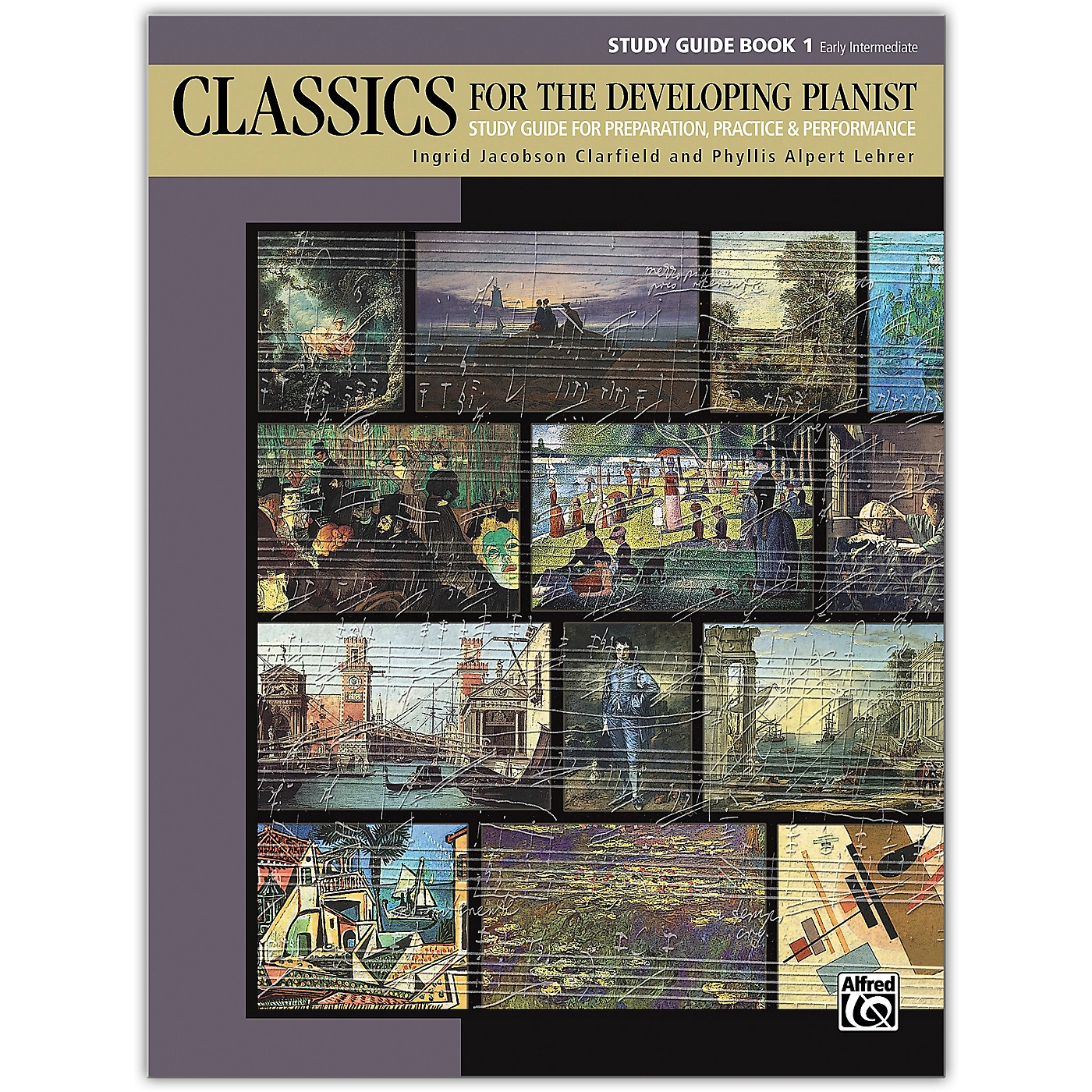 Alfred Classics for the Developing Pianist, Study Guide Book 1 Early Intermediate thumbnail