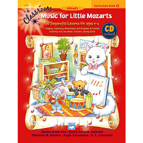 Alfred Classroom Music for Little Mozarts Curriculum Book 1 & CD thumbnail