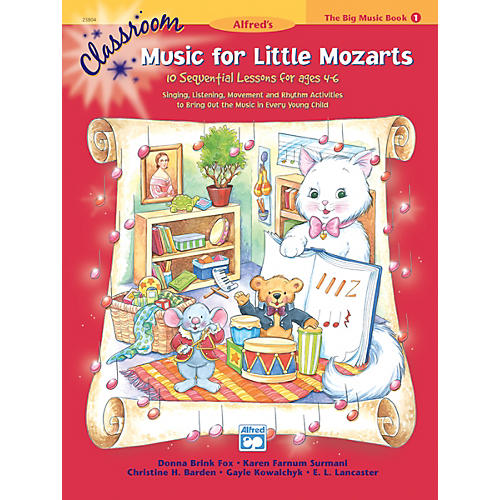 Alfred Classroom Music for Little Mozarts The Big Music Book 1-thumbnail