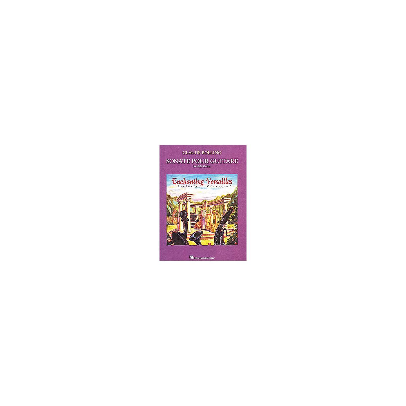 Hal Leonard Claude Bolling - Sonate Pour Guitare(Book) thumbnail