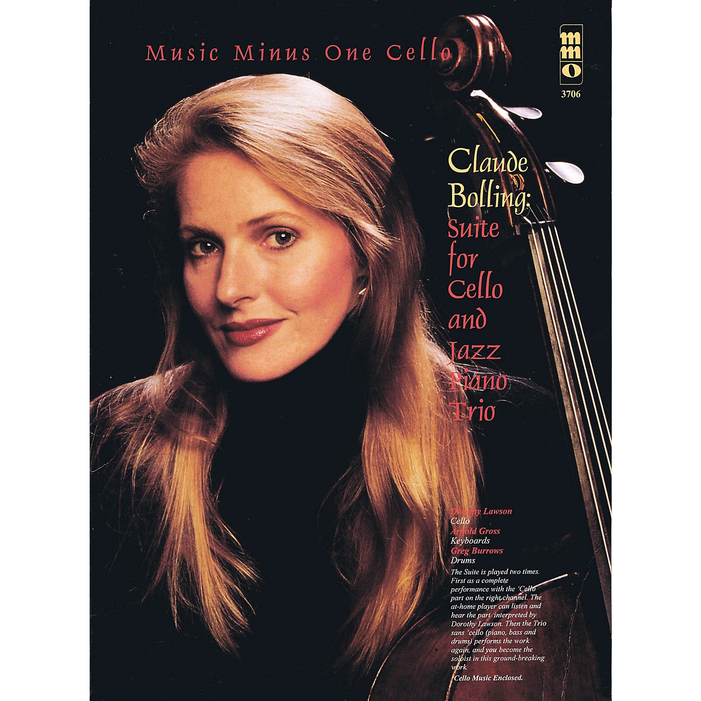Music Minus One Claude Bolling - Suite for Violoncello and Jazz Piano Trio Music Minus OneBK/CD by Dorothy Lawson thumbnail