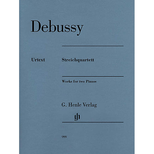 G. Henle Verlag Claude Debussy - String Quartet Henle Music Folios Composed by Claude Debussy Edited by Ulrich Krämer thumbnail