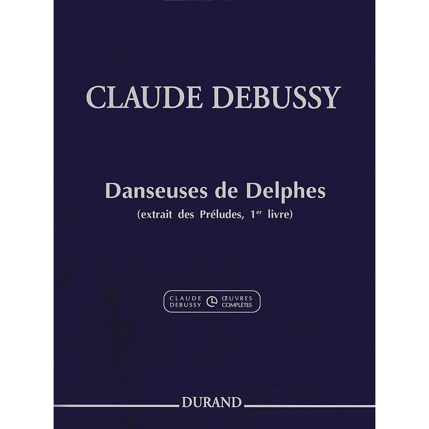 Durand Claude Debussy Danseuses de Delphes Book 1 For Piano thumbnail