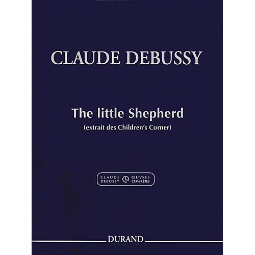 Durand Claude Debussy The Little Shepherd from Children's Corner For Piano-thumbnail