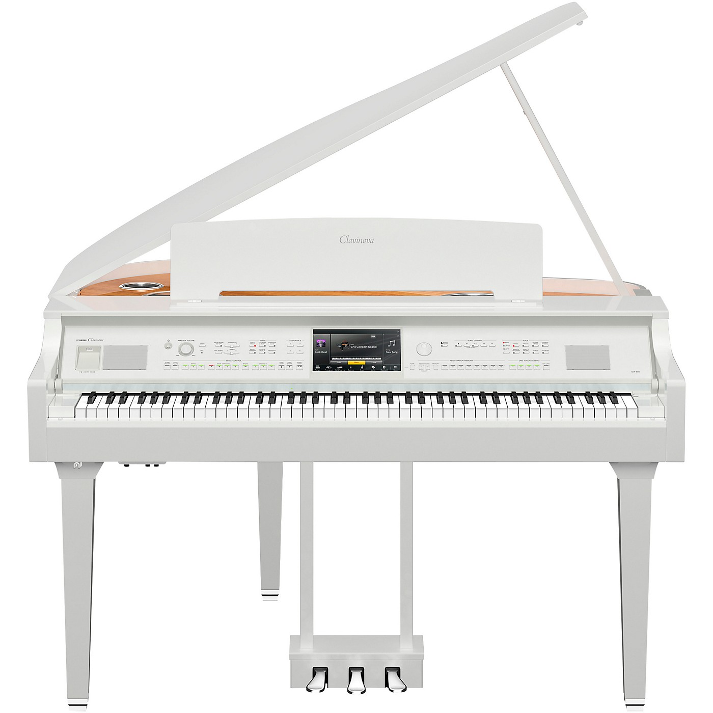 Yamaha Clavinova CVP-809 Digital Grand Piano with Bench thumbnail