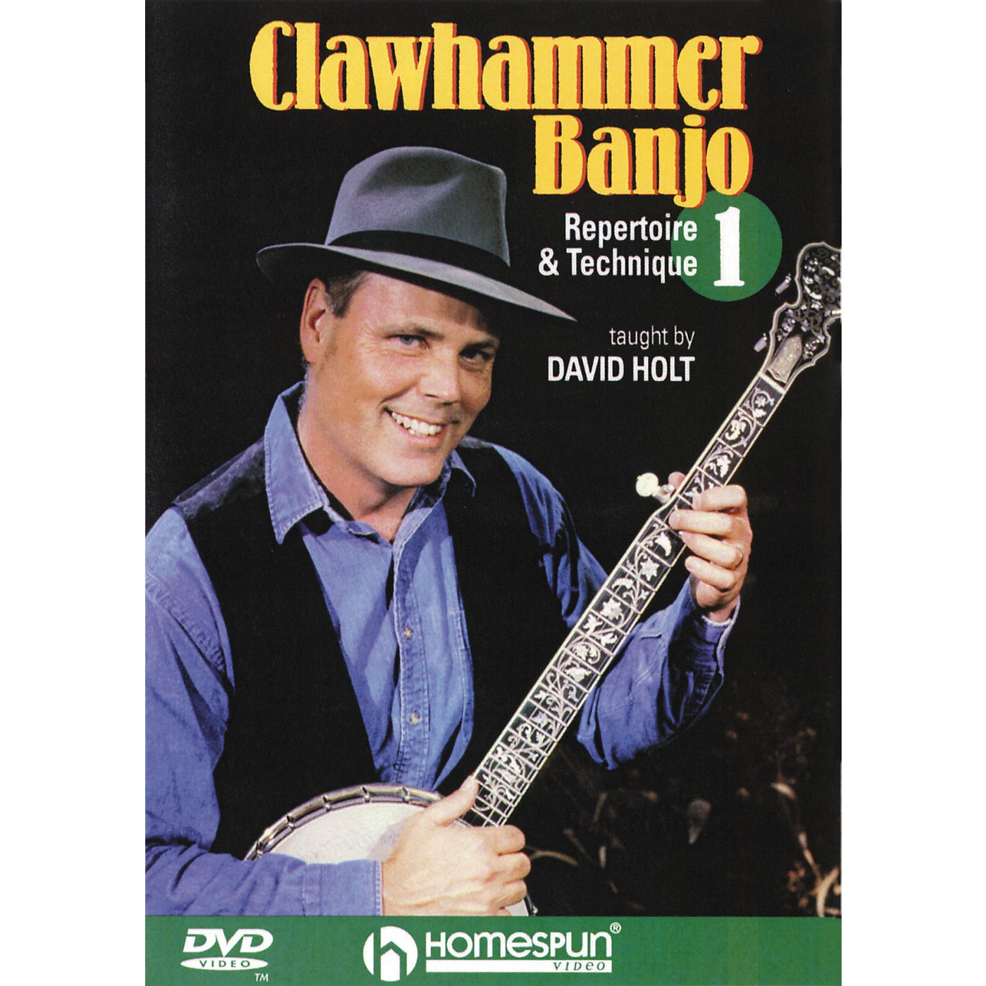 Homespun Clawhammer Banjo 1 (DVD) thumbnail