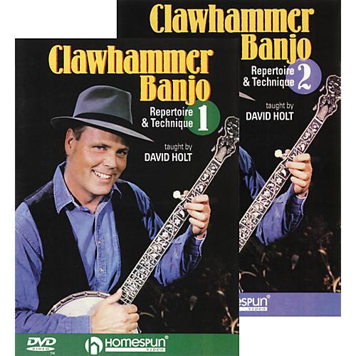 Homespun Clawhammer Banjo 2-DVD Set thumbnail