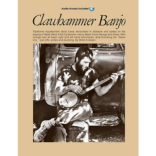 Music Sales Clawhammer Banjo Music Sales America Series Softcover with CD thumbnail