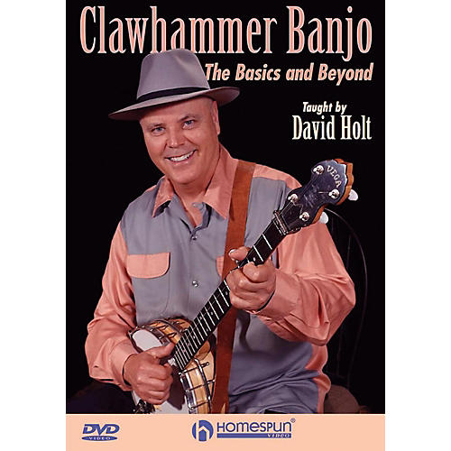 Homespun Clawhammer Banjo: The Basics And Beyond DVD thumbnail