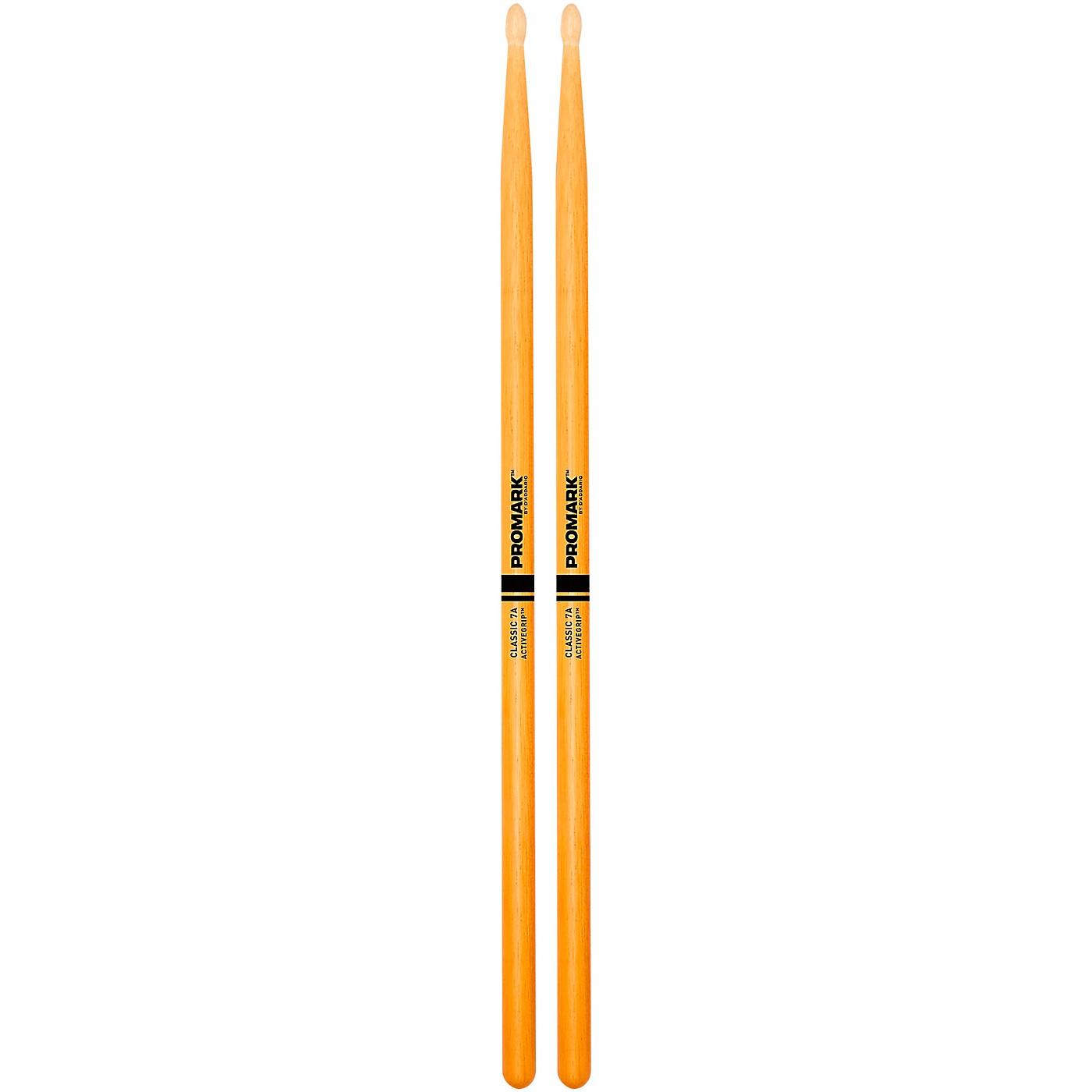 Promark Clear ActiveGrip Drumsticks thumbnail