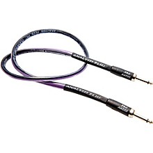 "Analysis Plus Clear Oval Speaker Cable with 1/4"" Straight to Straight"