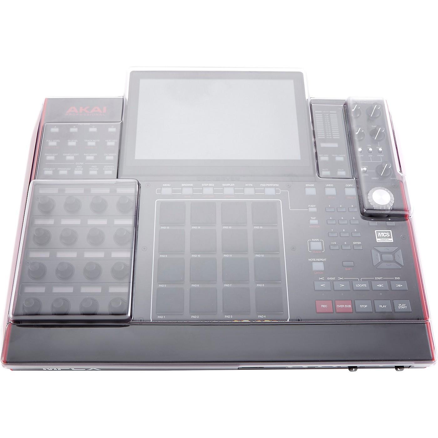 Decksaver Clear Polycarbonate Cover for Akai MPC X Sequencer thumbnail