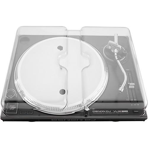 Decksaver Clear Polycarbonate Cover for Denon VL12 PRIME Professional Turntable thumbnail