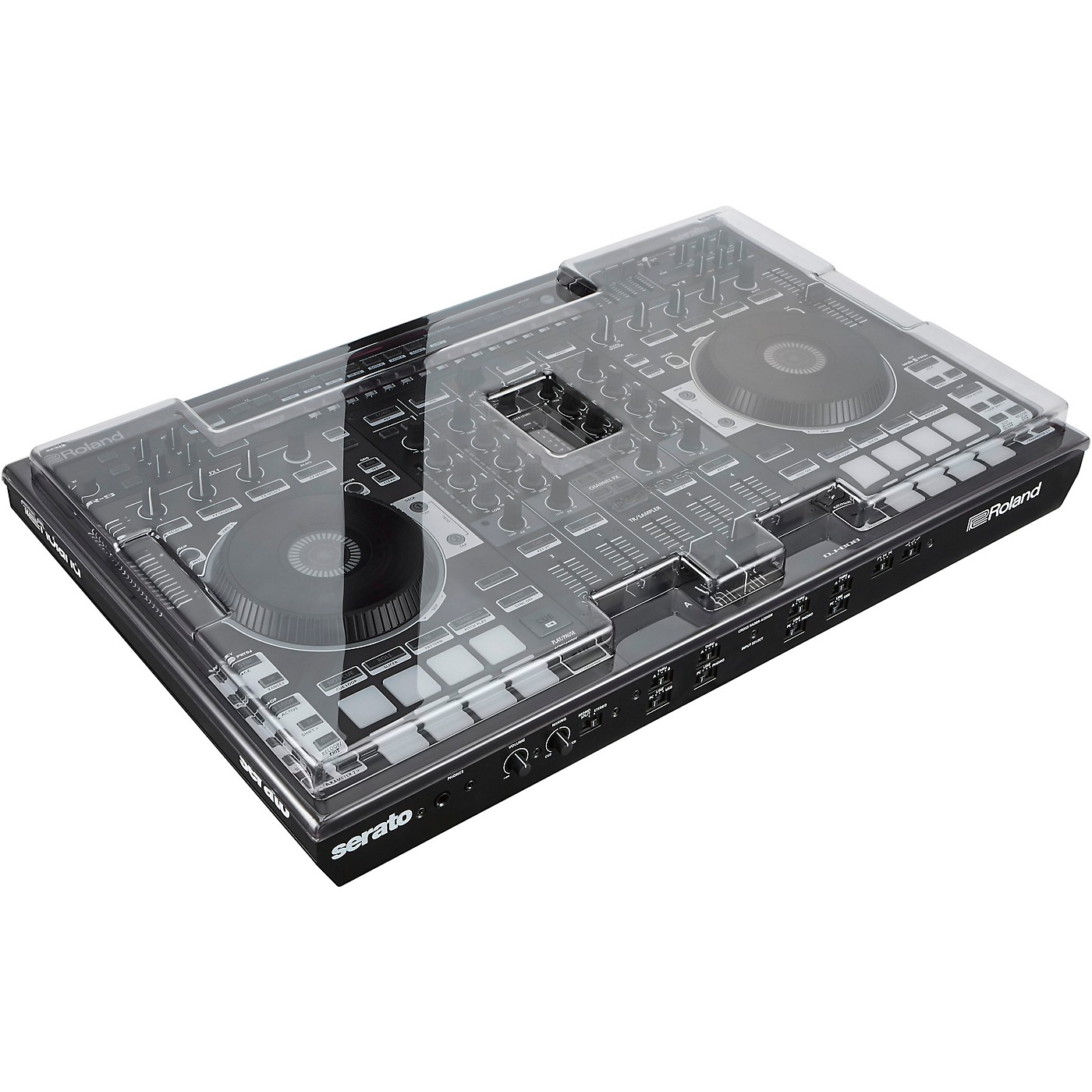 Decksaver Clear Polycarbonate Protective Cover for Roland DJ-808 Controller thumbnail