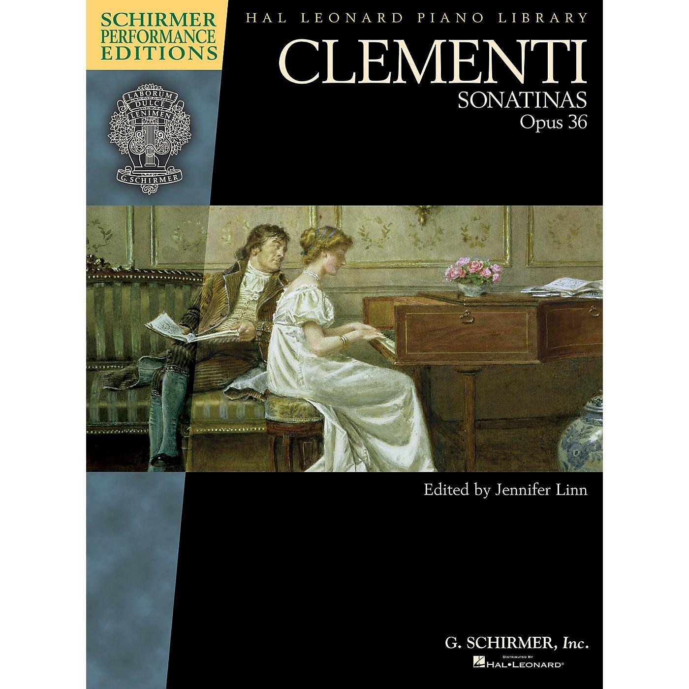 G. Schirmer Clementi - Sonatinas, Opus 36 Schirmer Performance Editions by Clementi Edited by Jennifer Linn thumbnail
