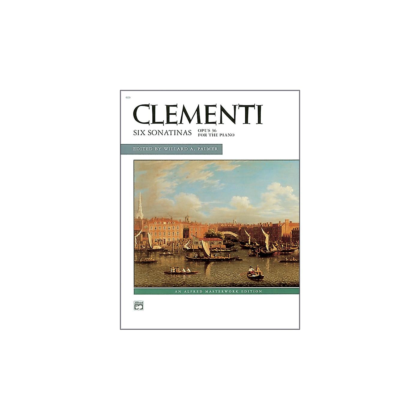 Alfred Clementi Six Sonatinas Op. 36 Intermediate Piano thumbnail