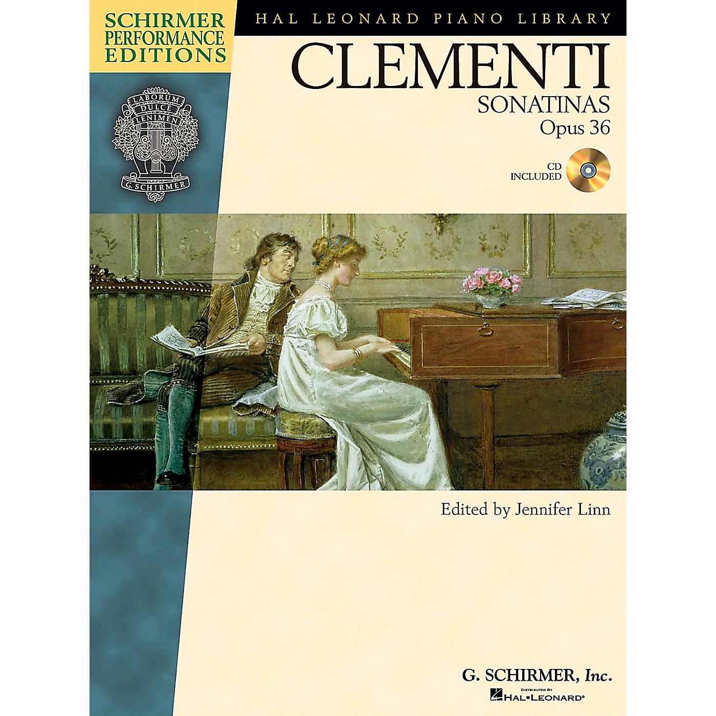 G. Schirmer Clementi Sonatinas Op 36 Book/Online Audio - Schirmer Performance Edition By Clementi / Linn thumbnail