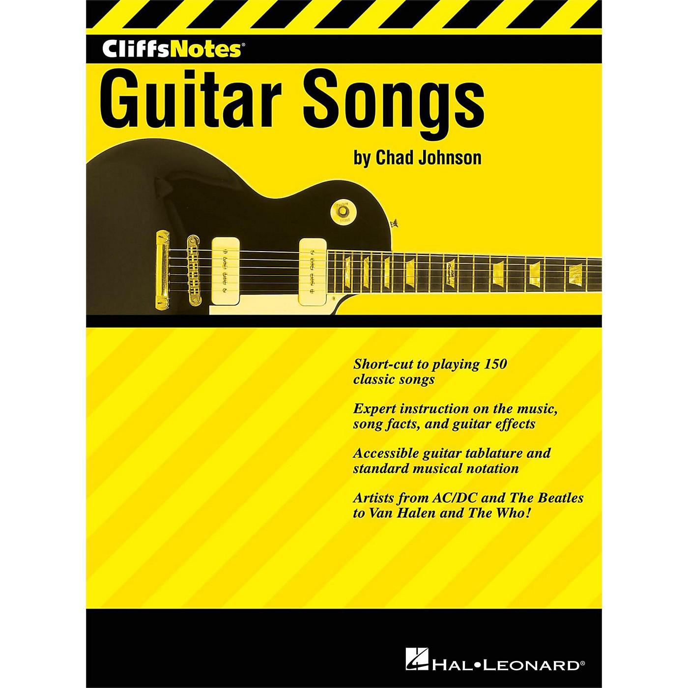 Hal Leonard Cliffsnotes To Guitar Songs thumbnail