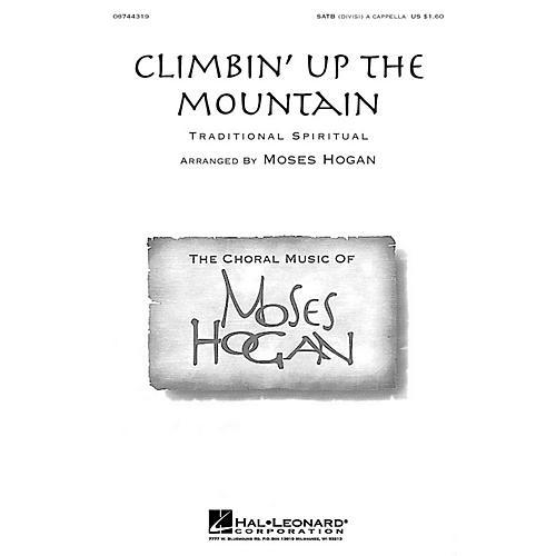 Hal Leonard Climbin' Up the Mountain SATB DV A Cappella arranged by Moses Hogan thumbnail