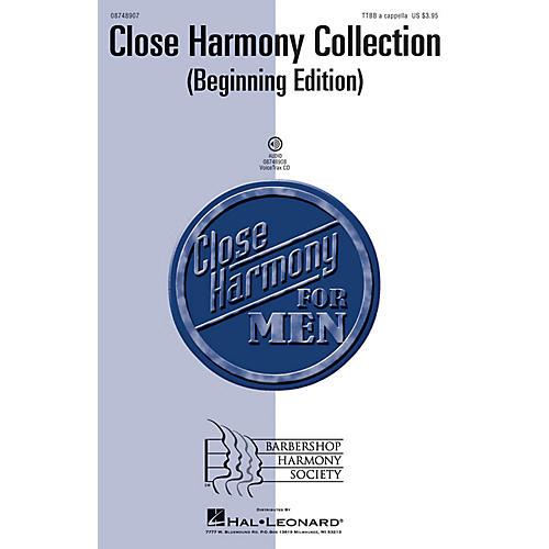 Hal Leonard Close Harmony Collection - Beginning Edition VoiceTrax CD thumbnail