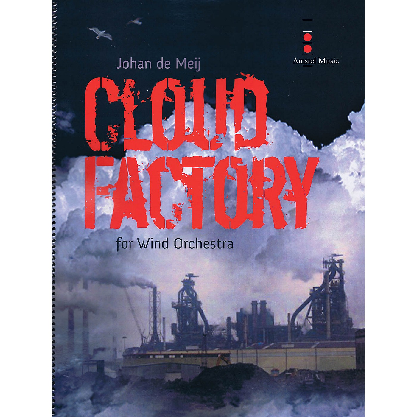 Amstel Music Cloud Factory (for Wind Orchestra) Concert Band Level 4 Composed by Johan de Meij thumbnail