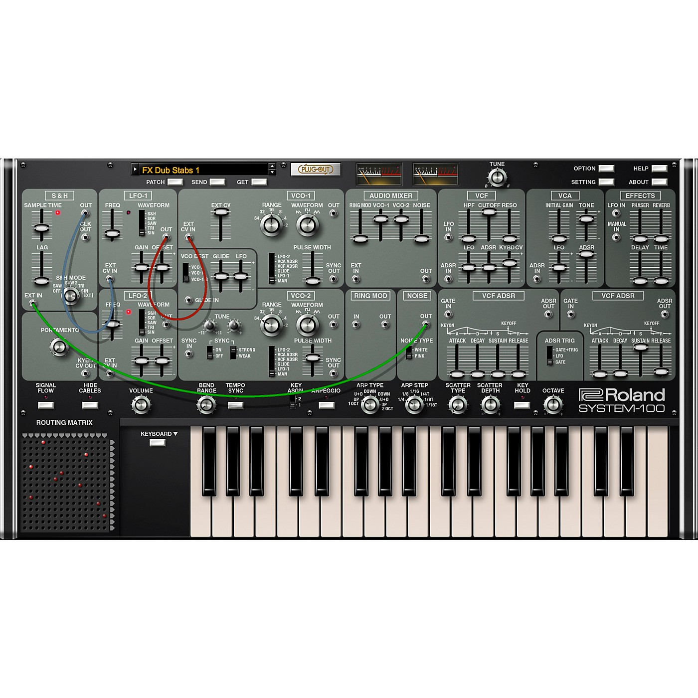 Roland Cloud Cloud SYSTEM-100 Software Synthesizer (Download) thumbnail