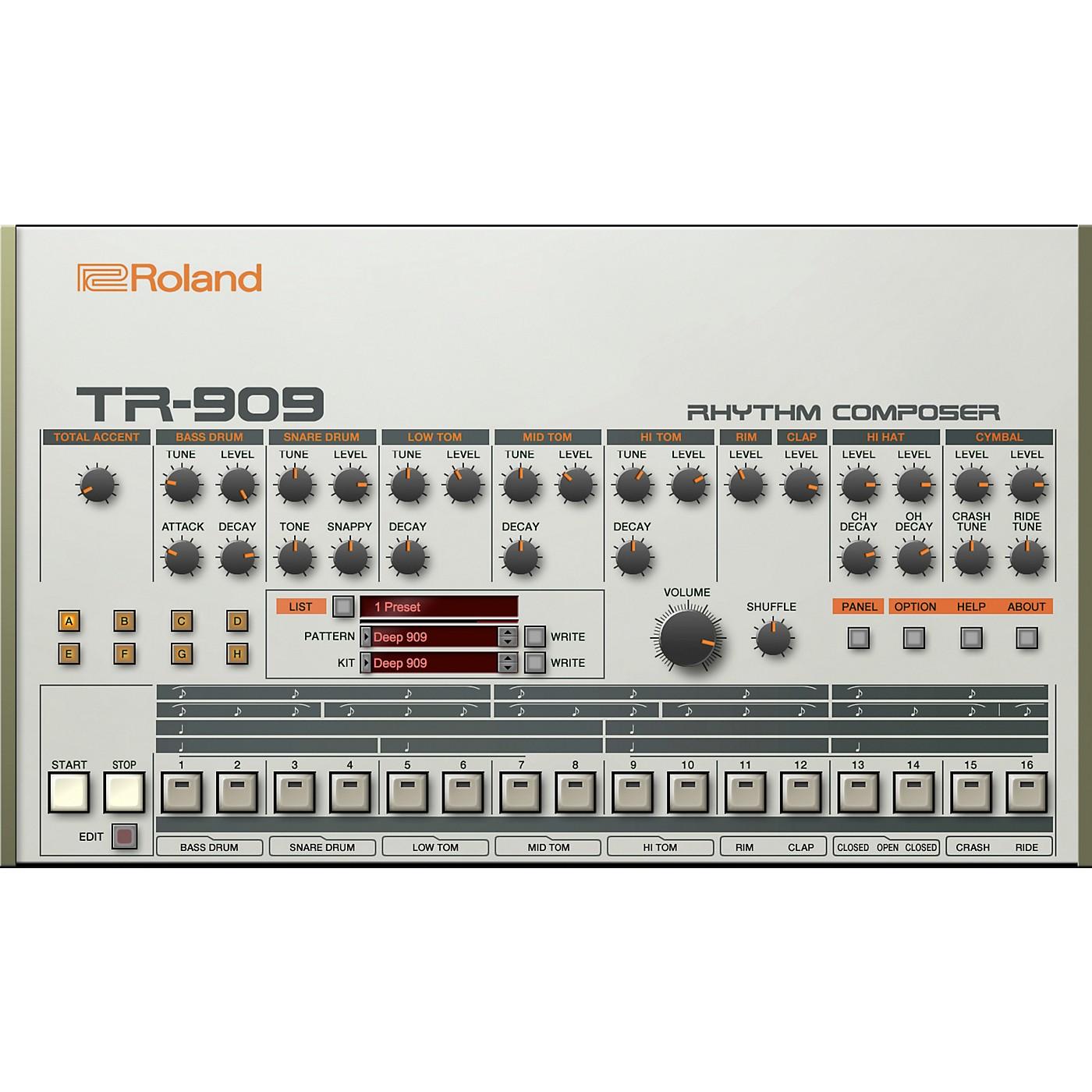 Roland Cloud Cloud TR-909 Software Rhythm Composer (Download) thumbnail