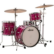 Ludwig Club Date 3-Piece Downbeat Shell Pack with 20 in. Bass Drum