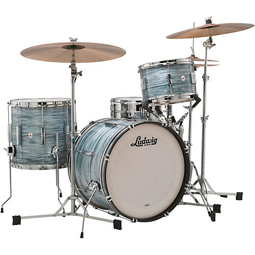 Ludwig Club Date 3-Piece Downbeat Shell Pack with 20 in. Bass Drum thumbnail